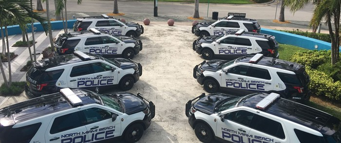 Four cops have been cleared of wrongdoing. - PHOTO BY CITY OF NORTH MIAMI BEACH