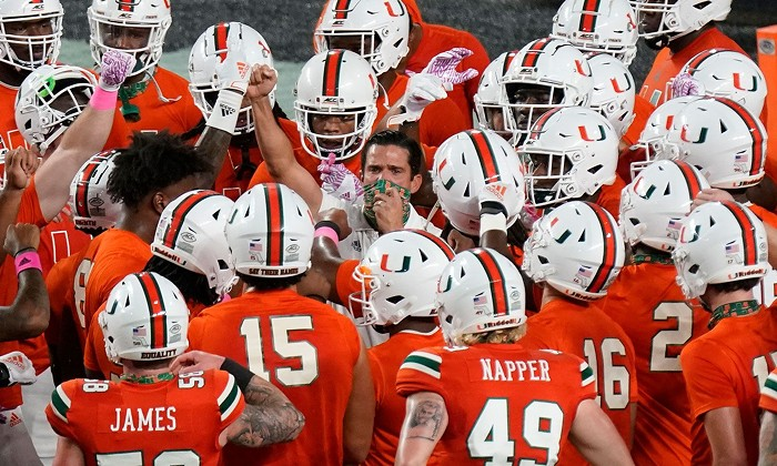 Let's get these guys paid. - COURTESY OF UNIVERSITY OF MIAMI ATHLETICS