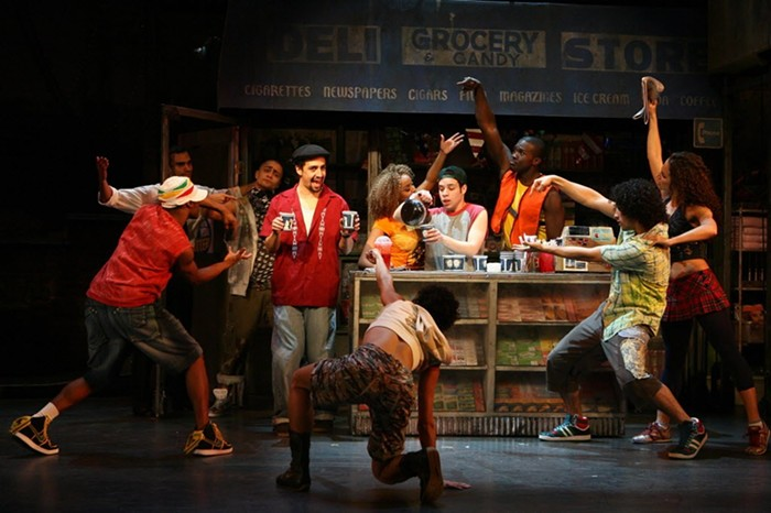 The original cast production of In the Heights. - PHOTO BY JOAN MARCUS