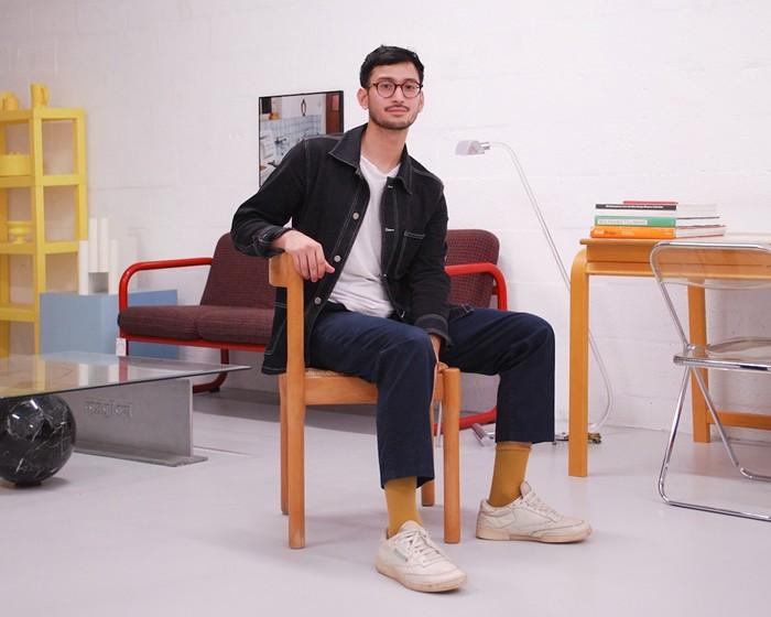 Principal propriétaire du studio Jonathan Sanchez-Obias - PHOTO PAR EMMANUELE COULOUMY