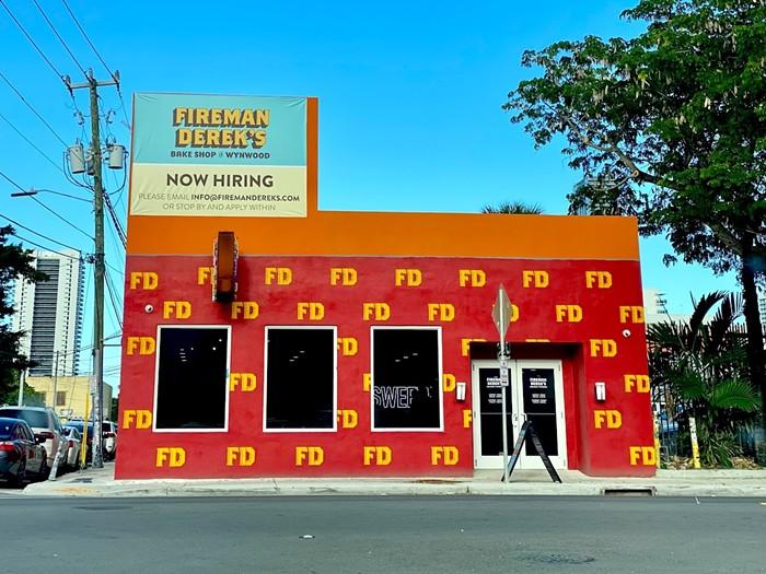 Fireman Derek's new pie shop. - PHOTO COURTESY OF FIREMAN DEREK'S