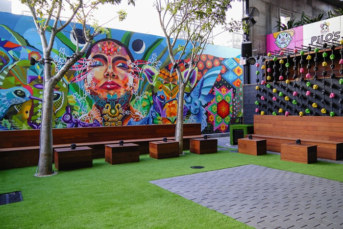 Pilo's Tequila Garden is just that — an outdoor garden in the heart of Wynwood with an open, inclusive vibe. - PHOTO COURTESY OF PILO'S TEQUILA GARDEN