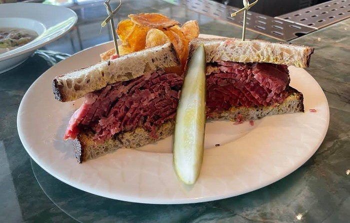 Pastrami on rye at Winker's Diner. - PHOTO BY LAINE DOSS