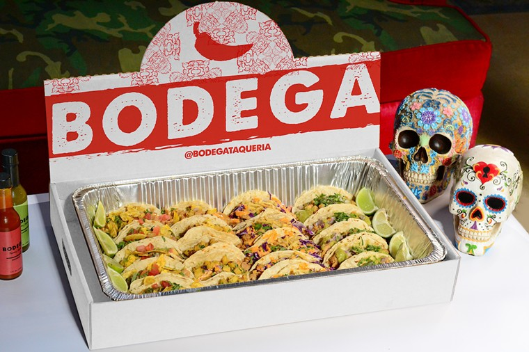Take home tacos for your Labor Day party. - PHOTO COURTESY OF BODEGA