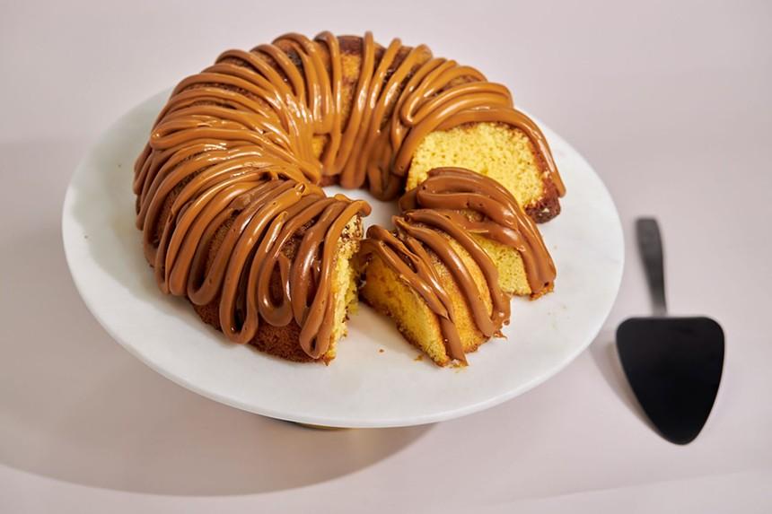 A bundt cake from Mo's - PHOTO COURTESY OF MO'S BUNDT CAKES