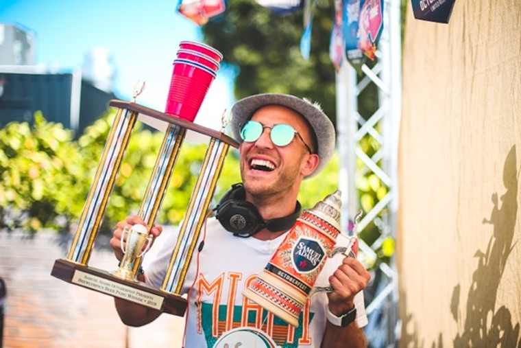 The 11th edition of Wynwood Octoberfest is here all weekend. - PHOTO COURTESY OF SWARM