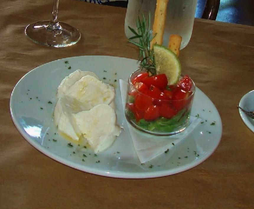 Burrata at Nido Caffe - PHOTO COURTESY OF NIDO CAFFE