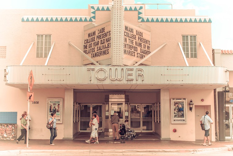 Tower Theater in Little Havana - PHOTO BY DAMIAN BAKARCIC/FLICKR