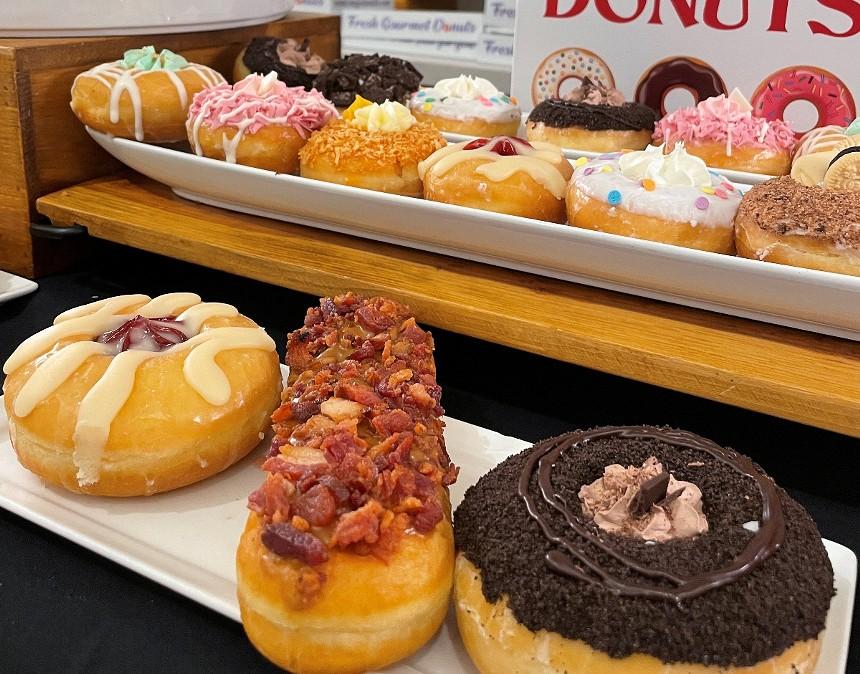 Mojo Donuts returns to Hard Rock Stadium. - PHOTO BY LAINE DOSS