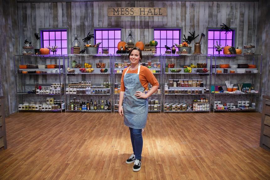 Halloween Baking Championship contestant Nicole Proske. - PHOTO COURTESY OF FOOD NETWORK