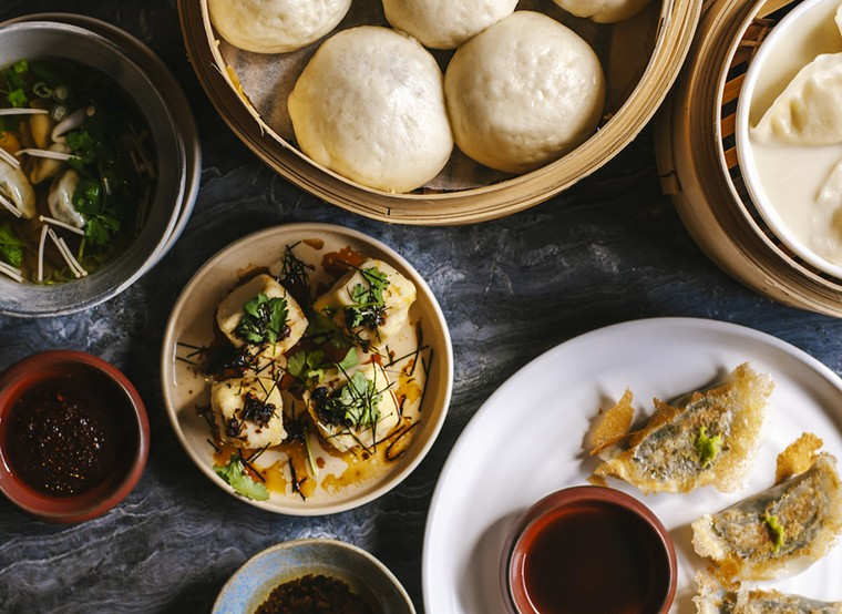 Planta Queen offers a variety of plant-based dumplings that vegetarians, vegans, and meat-eaters alike can get down with. - PHOTO BY STEVEN LEE