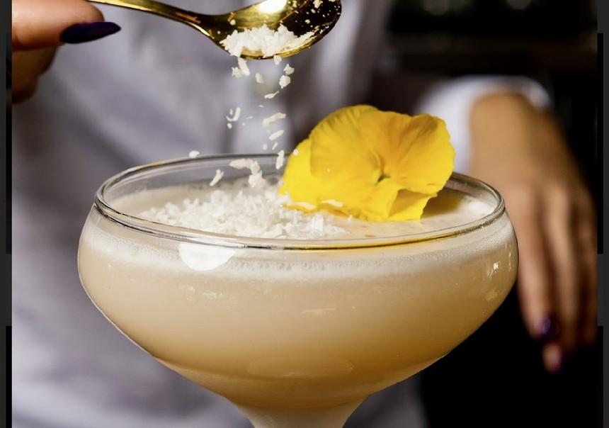 Hanamatsuri cocktail at Tanuki. - PHOTO COURTESY OF TANUKI
