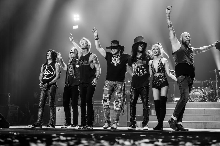 Guns N' Roses at Hard Rock Live: See Saturday - PHOTO COURTESY OF HARD ROCK LIVE