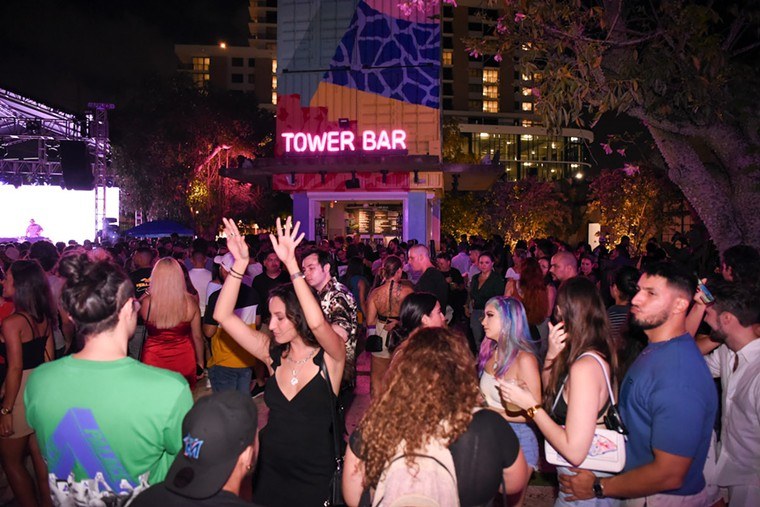 Oasis Wynwood is a spacious outdoor bar and nightlife spot. - PHOTO BY MICHELE EVE SANDBERG