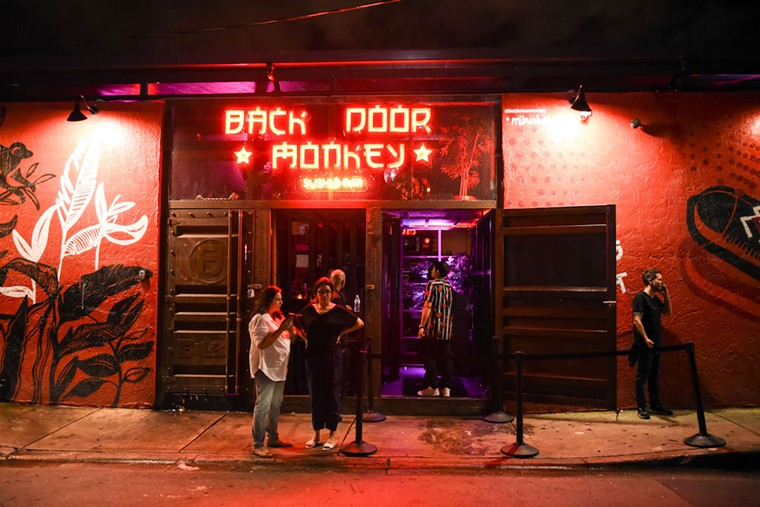Some nightlife venues — chiefly the sleek bars and new clubs — charge a cover, some as early as 7 p.m. and some as high as $40. See more photos from Wynwood's nightlife scene here. - PHOTO BY MICHELE EVE SANDBERG