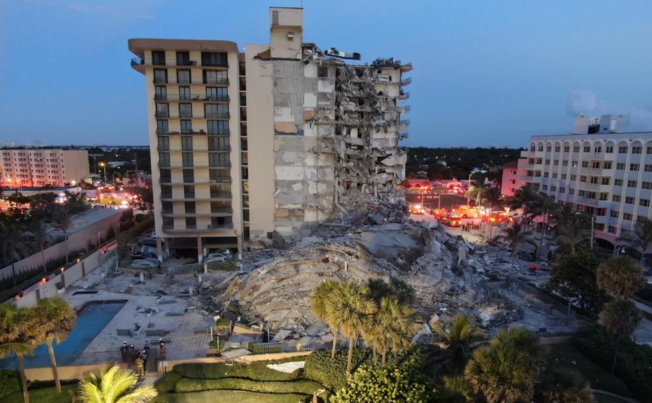Surfside's Champlain Towers Condo Was Sinking, FIU Researcher Says   Miami  New Times