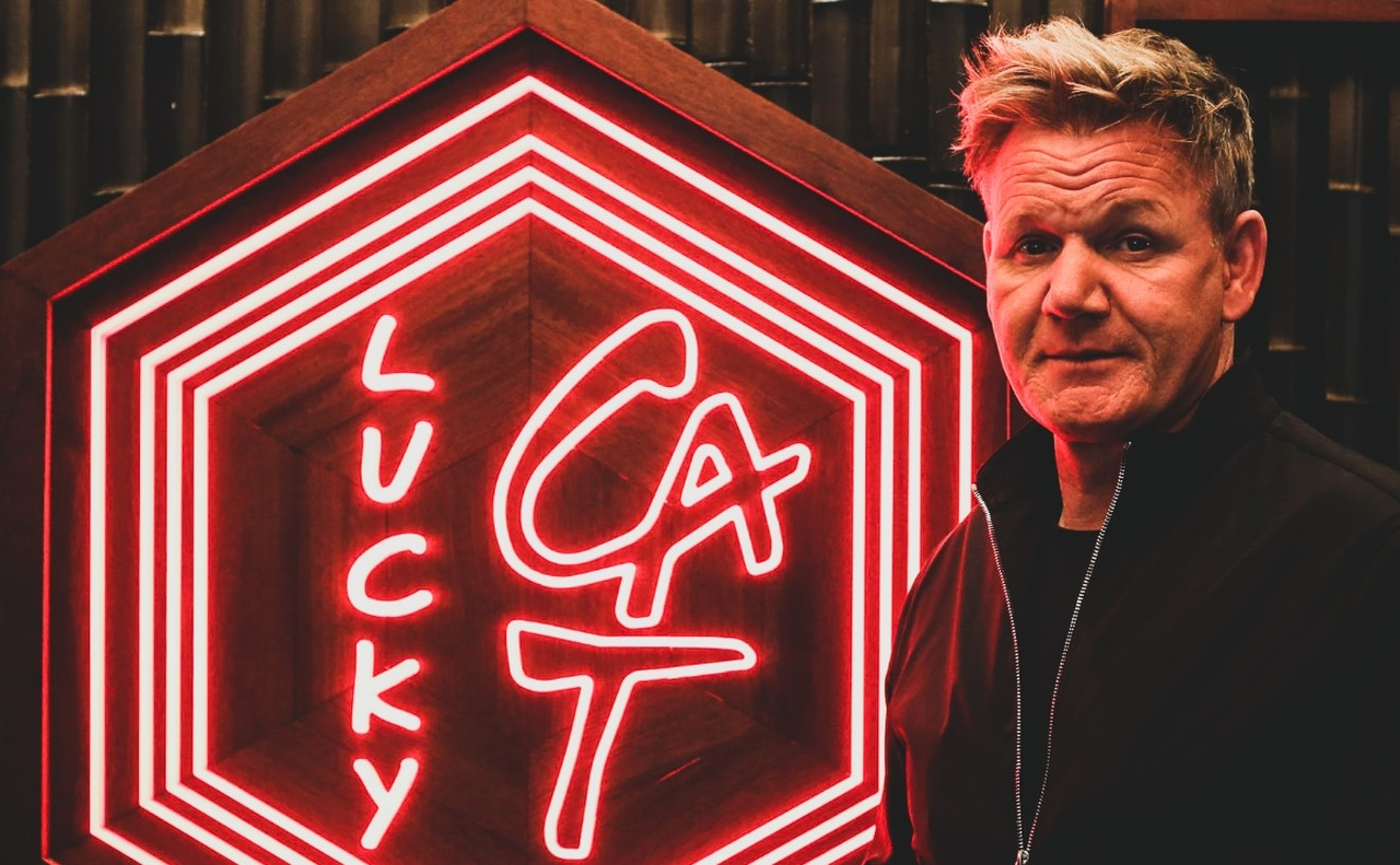 Gordon Ramsay will open an outpost of Lucky Cat in Miami in 2022.