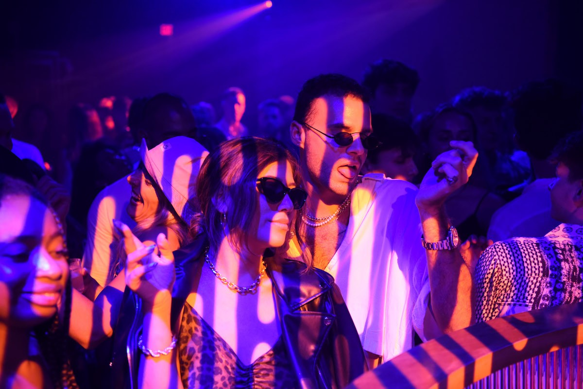 Clubgoers at Le Rouge. See more photos from Wynwood's nightlife scene here.
