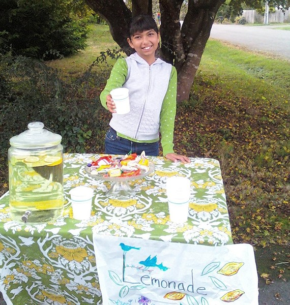 "11-year-old Paloma ""Pomy"" Herrera-Thomas of McKinleyville. - PHOTO COURTESY OF THE HERRERA-THOMAS FAMILY"
