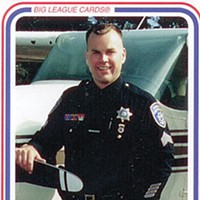 Howdy, Sheriff 1996 EPD trading card, courtesy of Mike Hislop