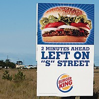 Ugly Billboards 21. Burger King