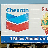 Ugly Billboards 22. Chevron/Aztec Grill