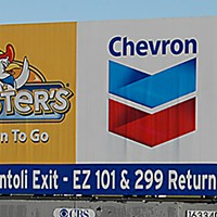 Ugly Billboards 30. Chevron/Chester's