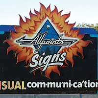Ugly Billboards 4. Allpoints Signs