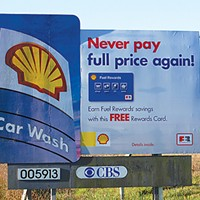 Ugly Billboards 7. Shell Gasoline
