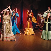 """A middle Eastern twist on the holidays returns this year in """"Nutcracker: Arabian Nights,"""" shown here in the 2011 production."""