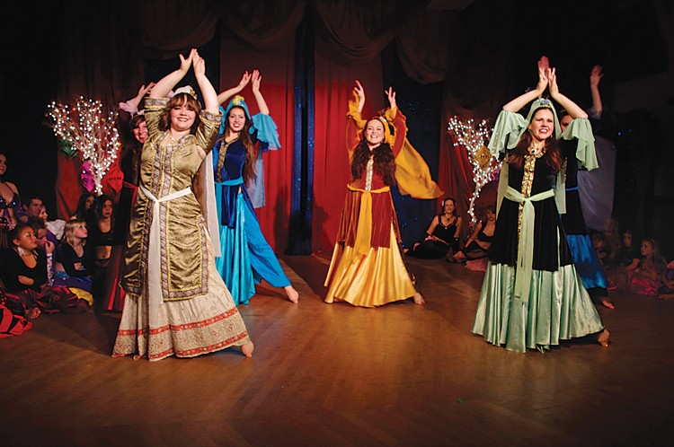 "A middle Eastern twist on the holidays returns this year in ""Nutcracker: Arabian Nights,"" shown here in the 2011 production. - PHOTO BY TIFFANY BROGDON"