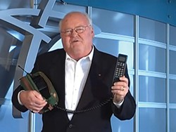 After two decades of pitching cell phones and dominating the local airwaves, Corky Cornwell has retired.