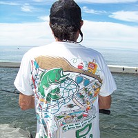 Combat Fishing on the Klamath Al Robles of Fremont has fished at the mouth of the Klamath every year since 1974. He remembers other times the mouth ran parallel to the ocean. And, yes, he's seen fights when the crowds get too elbow-to-elbow. Photo by Heidi Walters