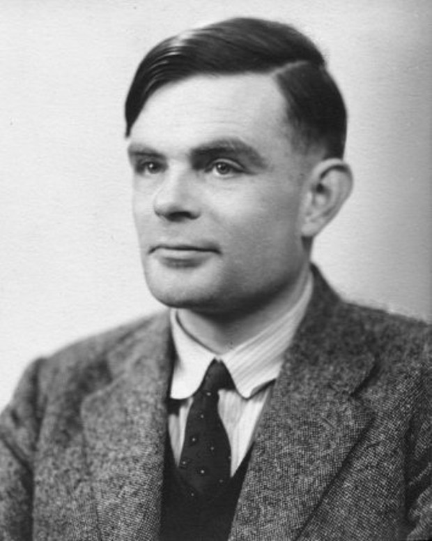 Alan Turing in 1951. - NATIONAL PORTRAIT GALLERY, LONDON
