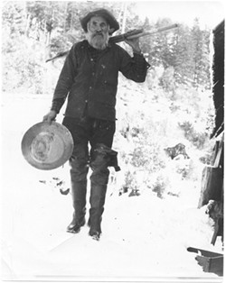 Alex Boyd was a miner who lived at the mouth of Emigrant Creek and died while checking a bear - trap when he was in his 80s.