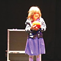 Send Out The Clowns Alexandra Diers-Parker's stage debut.  Photo by Bob Doran.
