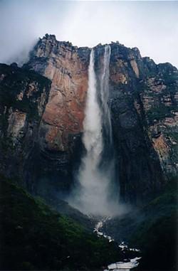 RICH CHILDS, WIKIMEDIA COMMONS - Angel Falls, Venezuela.