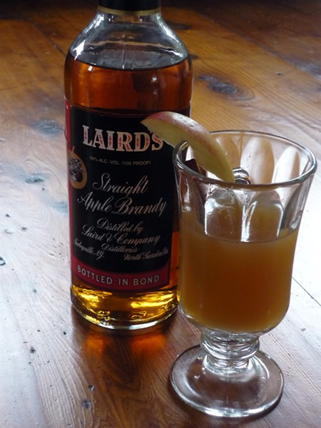 Apple hot toddy - PHOTO BY AMY STEWART