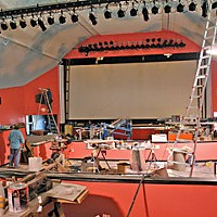 Tale of Two Theaters Arcata Theater Lounge near completion. Photo by Bob Doran