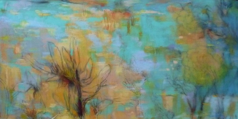 """""""Different but Not"""" Arcs of Life pastel by Victoria Ryan"""