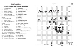 Arts! Arcata Map, June 2012
