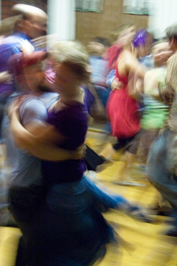 at a Barn Dance - PHOTO BY MAIA CHELI-COLANDO
