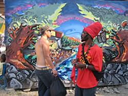 At Reggae Rising 2007. Photo by Bob Doran