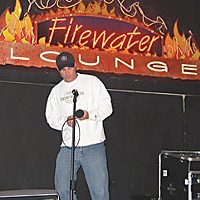 7 Days of Karaoke Billy Skerratt at Cher-Ae Heights' Firewater Lounge. Photo by Joel Hartse.