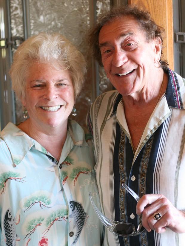 Bob and Lynne Wells - PHOTO BY BOB DORAN