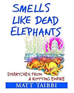 "Book cover, ""Smells Like Dead Elephants"""