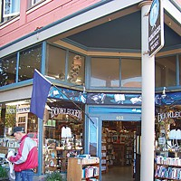 Best Of Humboldt -- Staff Picks Booklegger, on E and Second sts. in Eureka's Old Town. Photo by Heidi Walters