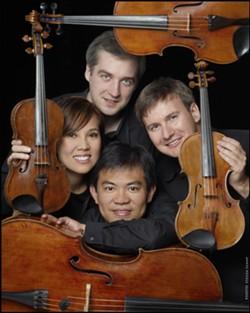 PHOTO BY STEVEN LEMAY - Borealis String Quartet