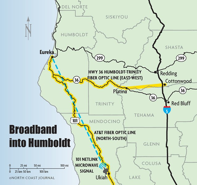Broadband Into Humboldt - NCJ GRAPHICS