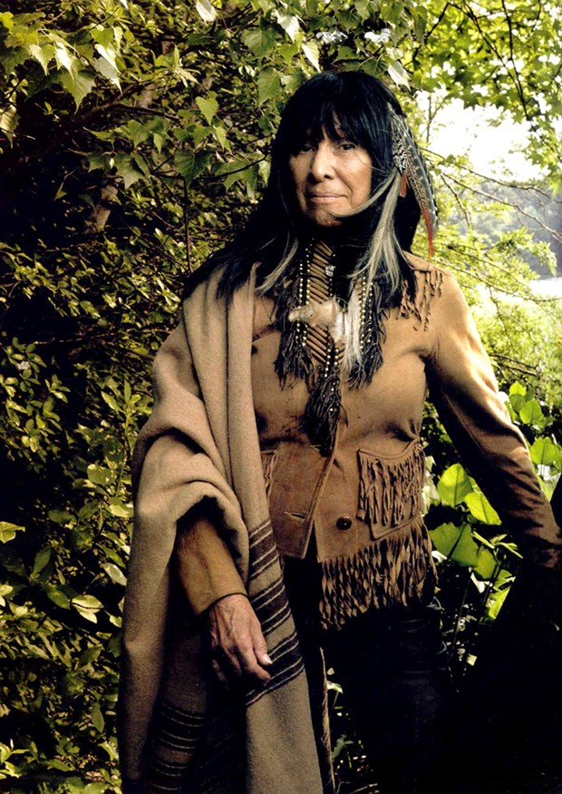 Buffy Sainte-Marie - PHOTO BY ANNIE LEIBOTVITZ